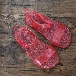 Baby Gap jelly shoes!